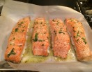 Wild Roast Salmon 20 minutes start to finish.