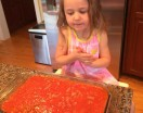 4-year-old Luciana had fun making this dish in just a few minutes!